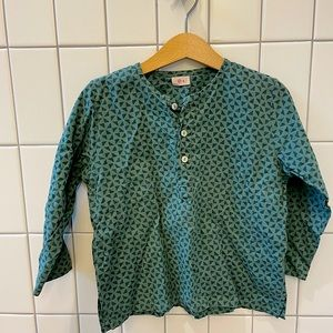 Ketiketa boys shirt, high end, gorgeous! 4T